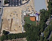 ECU Softball Field Aerial - Greenville, NC